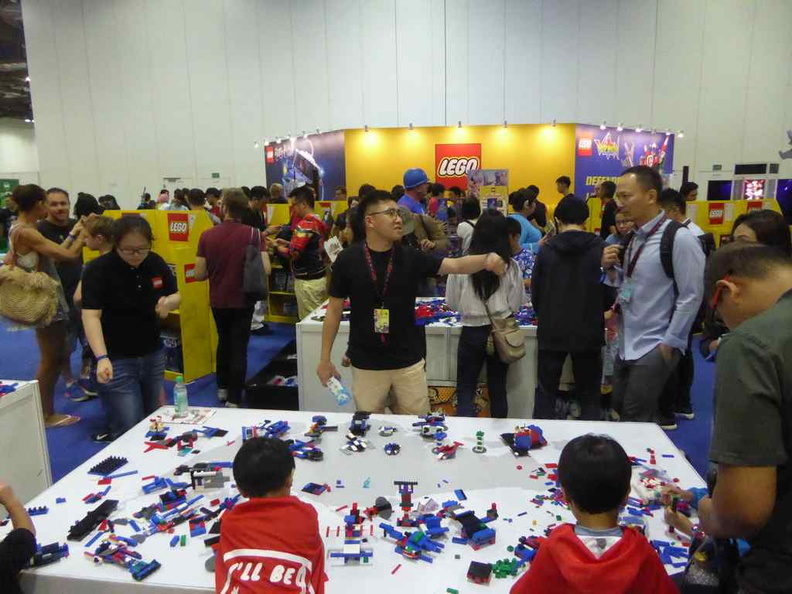 Lego play and interactive booth