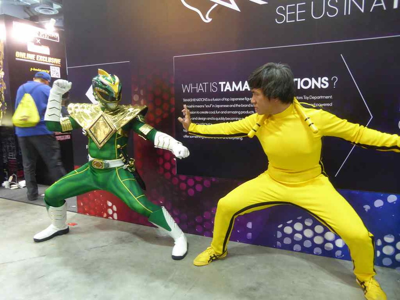 Hey Bruce lee attended STGCC as well!