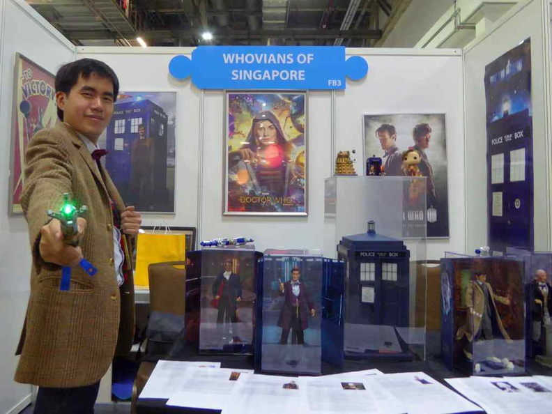 Introducing the Who is Dr Who  with the Whovians of Singapore