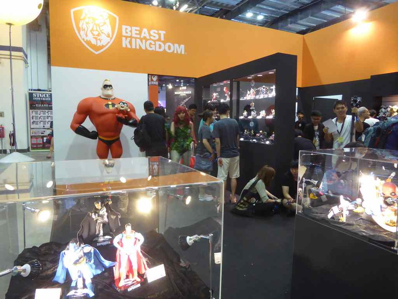 Beast Kingdom booth