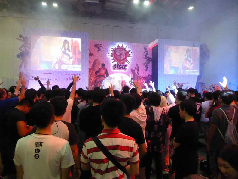 The STGCC main stage