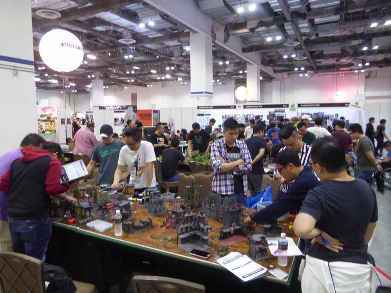 The Colosseum tabletop gaming sector