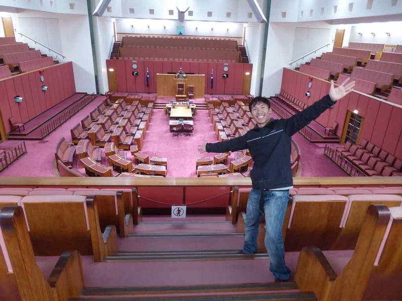 Welcome to the Australian Senate