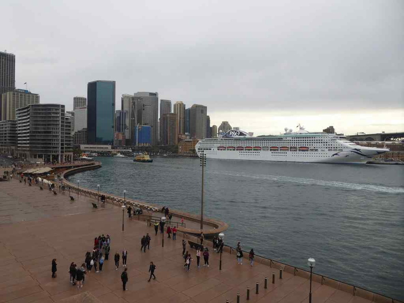 Overview of the Darling harbour from the Opera house