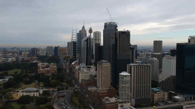 The Sydney Central business district