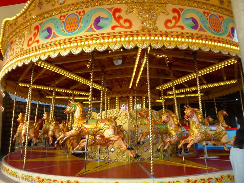The park carousel. In fully painted livery