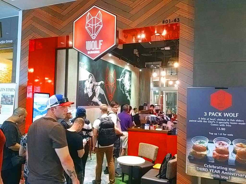 Welcome to Wolf Burgers Changi City Point