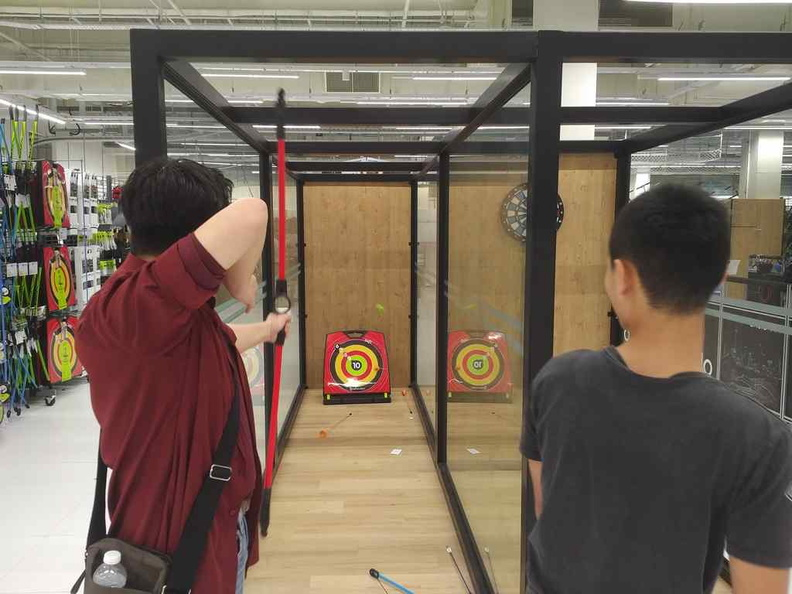 Archery at 2am anybody?