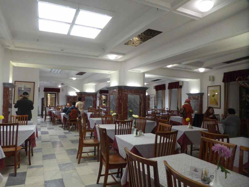 The interior of the Stolovaya 57 restaurant