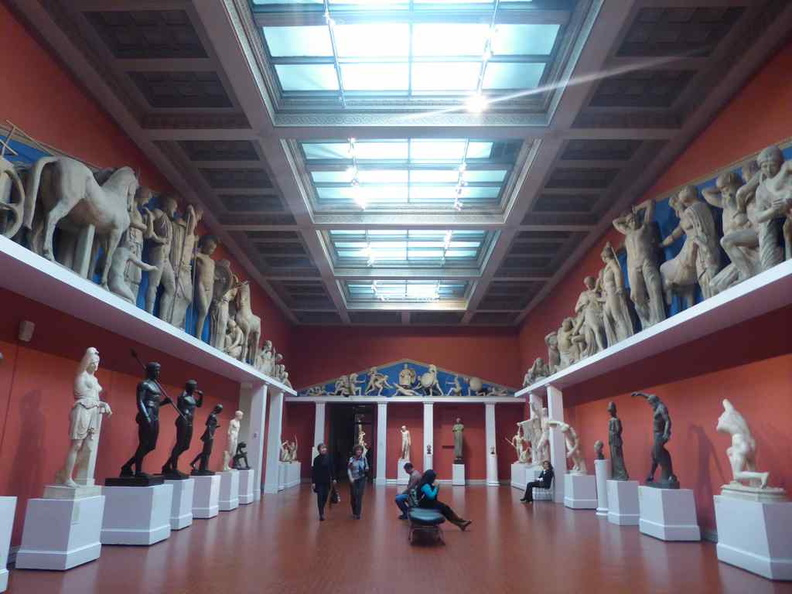 The sculpture hall