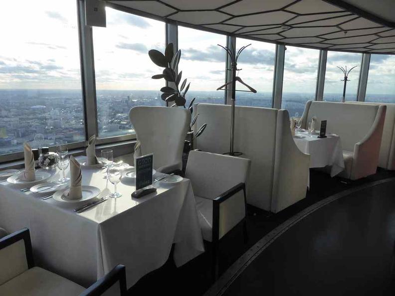 Fancy restaurant dining floor