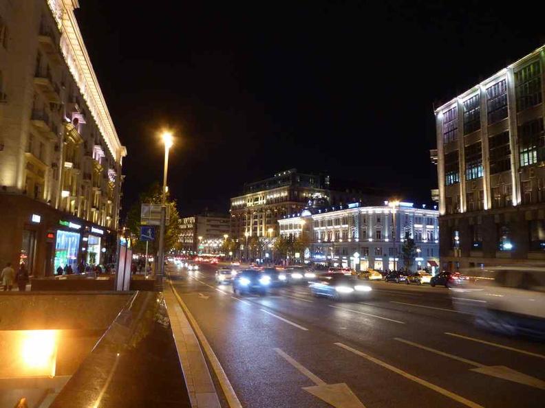 Streets along the Tretyakovsky Proyezd.