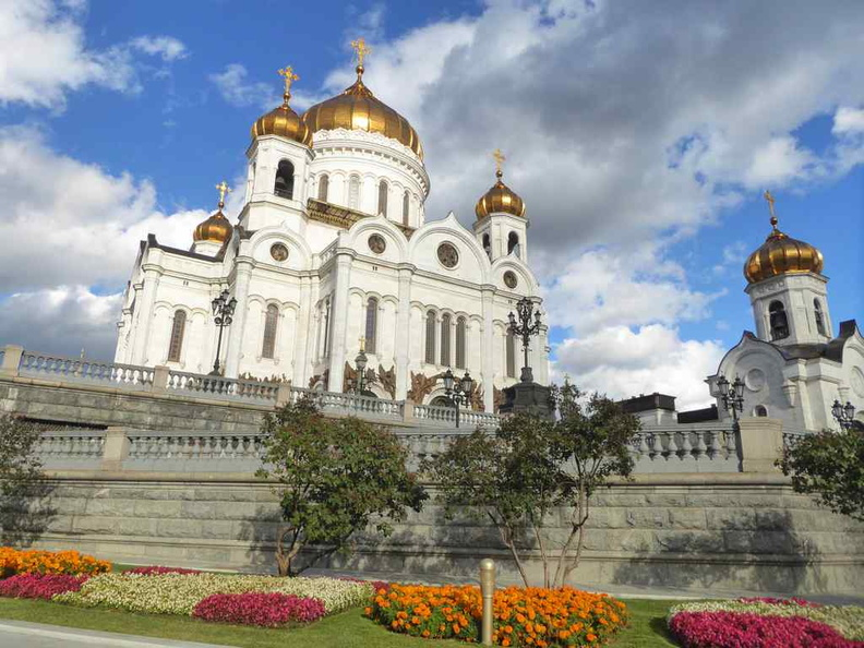The exterior of the Cathedral of Christ the Saviour