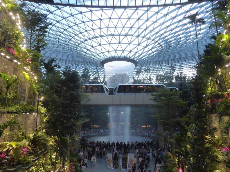 The Jewel cements Singapore Changi airport as one of the best an Airport can offer