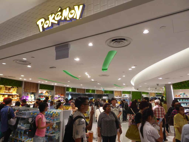 Singapore's very first Pokémon center, and the first out of Japan too