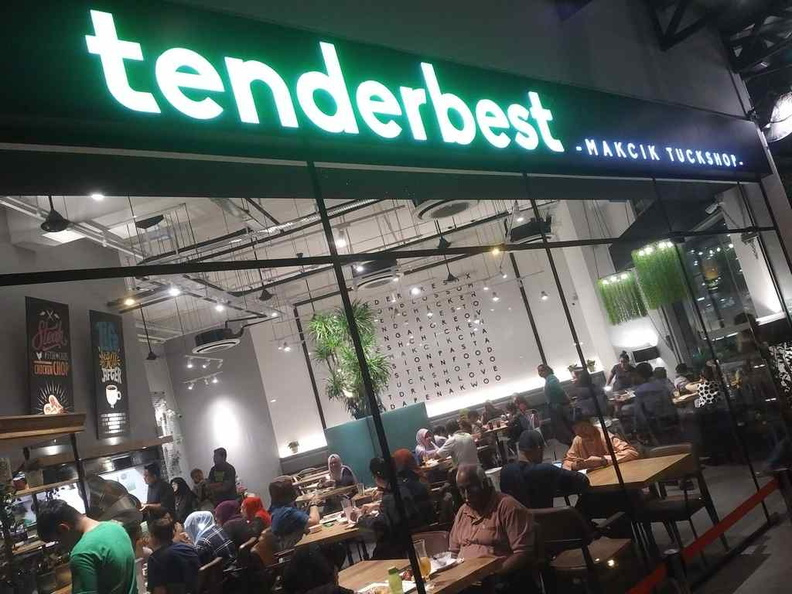 Welcome to Tenderbest. The restaurant shopfront. You can't miss it being located along a main road