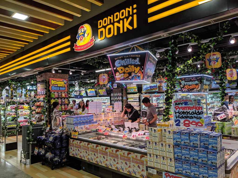 Welcome Singapore 5th Don Don Donki super market. Like the one at Orchard, this one opens 24 hours a day