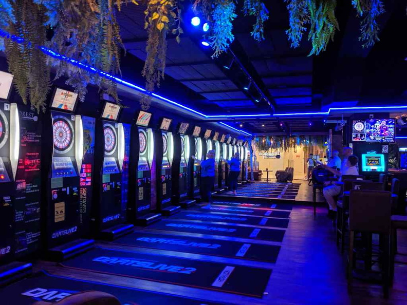 The Darts live establishment returns on the ground floor