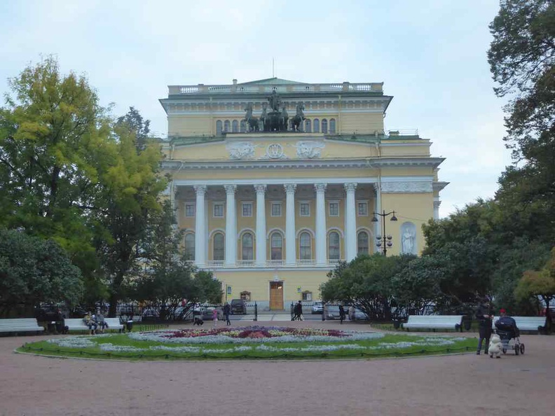 The Alexandrinsky Theatre was opened on 31 August, 1832 and built for the Imperial troupe of Petersburg