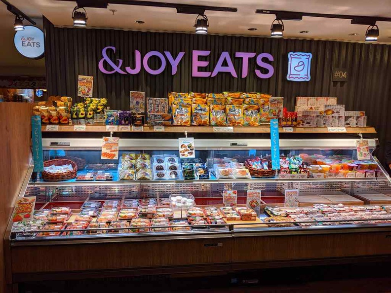 Enjoy eats, a small chilled food section selling Ready-to-Eat meal items