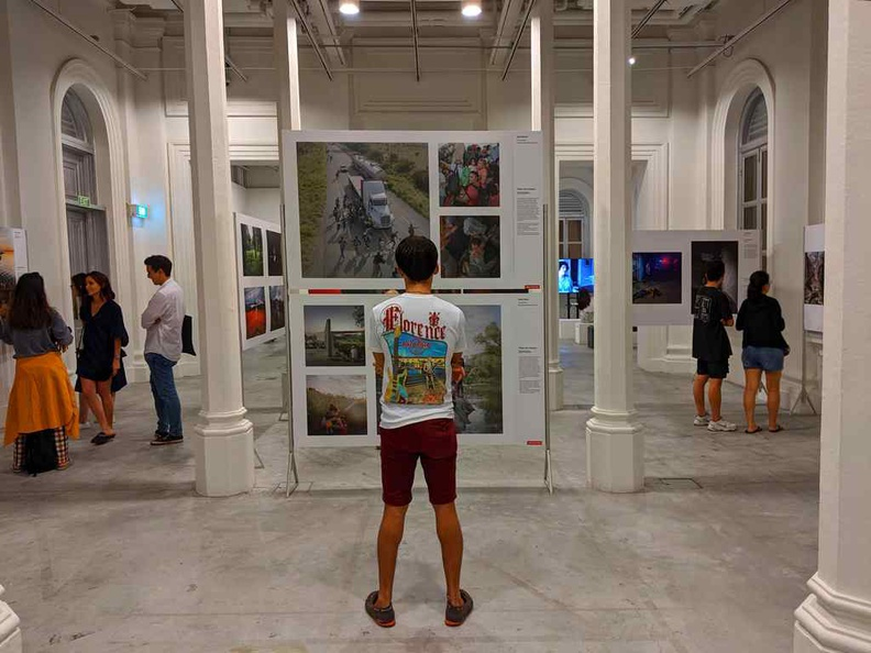 With the galleries of the 2019 World Press photos exhibition in Singapore