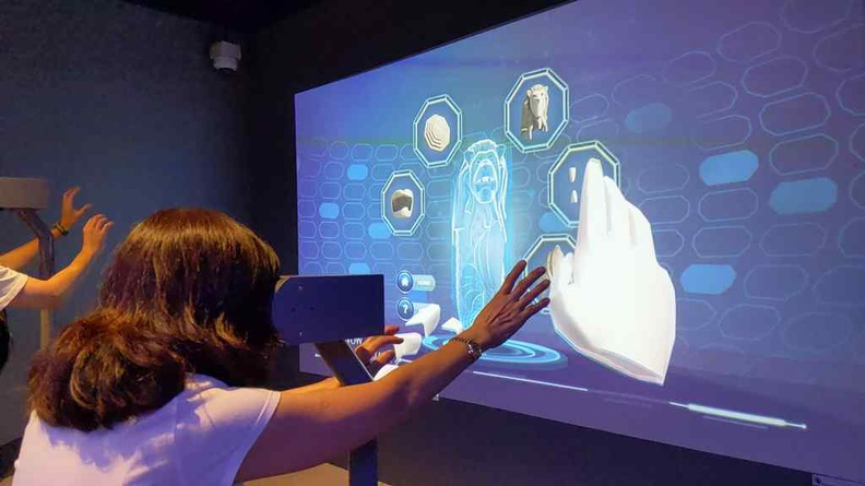 Multimedia and VR interactive booths suitable for all ages