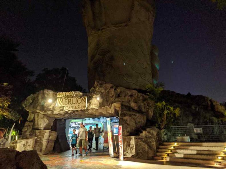 Museum giftshop entrance