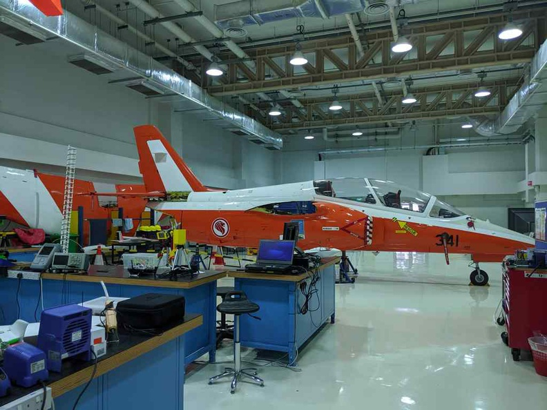 Temasek Aviation Lab, with several actual plans for hands-on studies