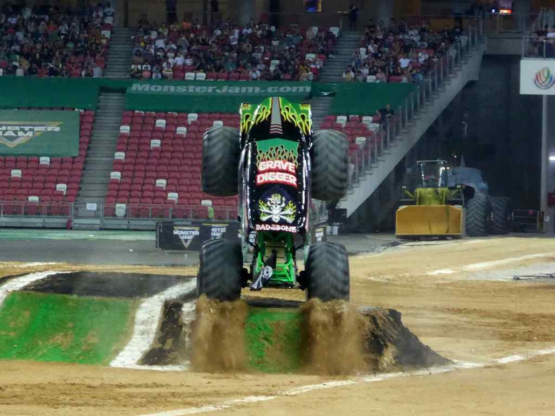Grave digger, an all time old favorite is back