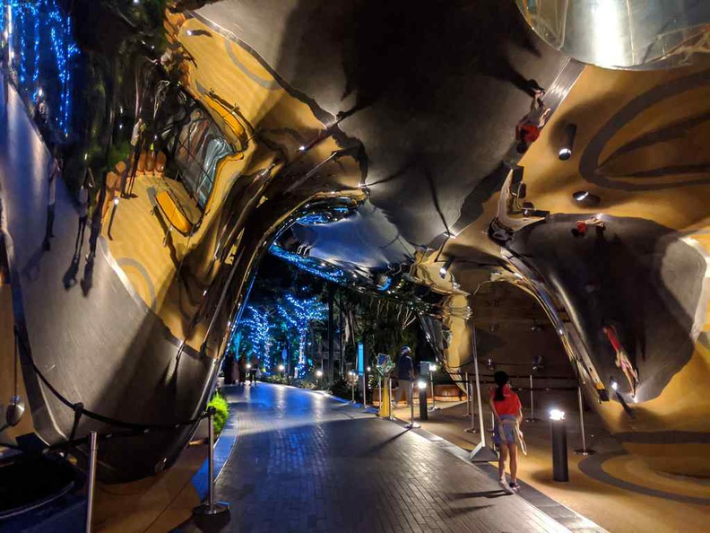 You can't miss the Discovery slides, with a its eccentric wall of mirrors