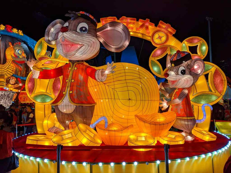 Welcome the new Lunar new year of the Rat at River hongbao 2020