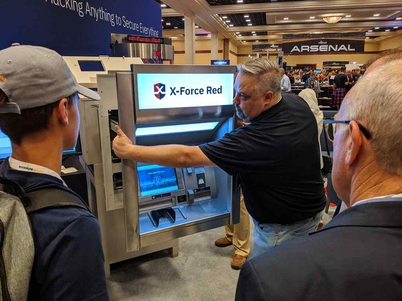 Hack an ATM? We got you covered here at Blackhat