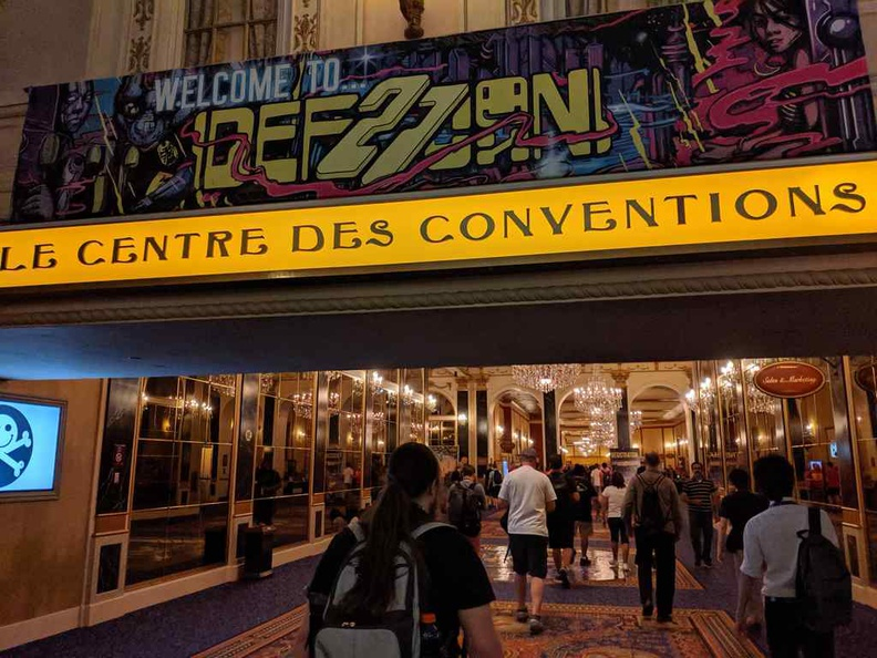 Welcome to DEFCON at Paris Bally Las Vegas, Nevada.