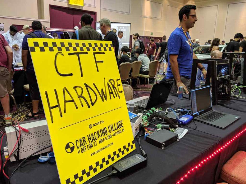 DEFCON hacker convention CTF hardware