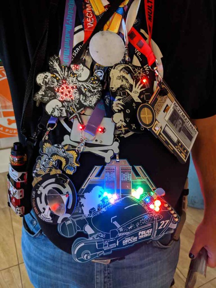 There can be just not enough badges at DEFCON hacker convention!