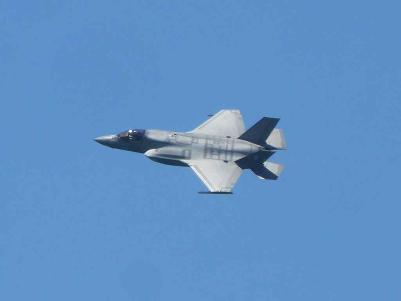 The F35B joint strike fighter had it debut performance at the Aerial display this year. Also after the RSAF announced the purchase of the plane