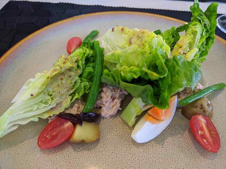 Lorez Tuna Nicose Salad, it is a quite a delight