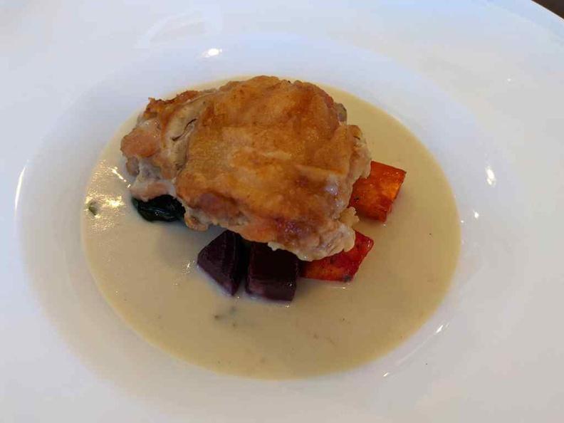 Lorez Restaurant Nanyang Polytechnic Chicken fricassee stew