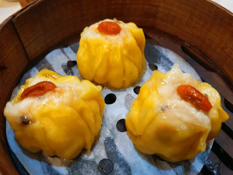 Steamed Siew Mai, 3 piece for $4.60