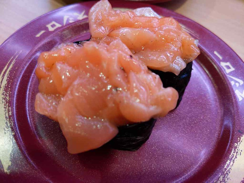Sea urchin sushi $2.20, not an everyday find, gets my recommendations too.