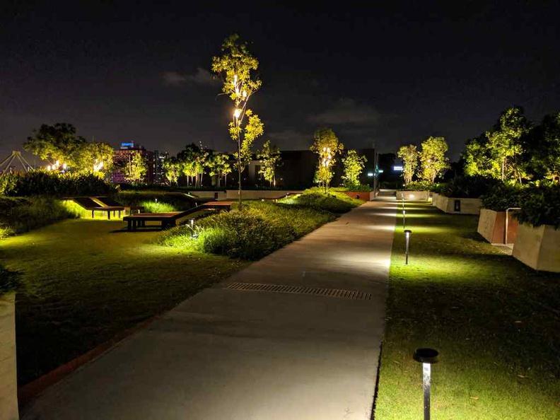 Funan IT mall roof top garden