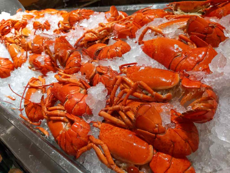 The lobster crayfish selections are quite extensive, not to mention rather fresh too