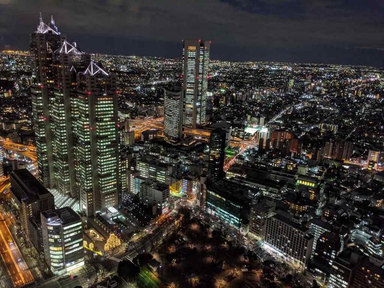 Tokyo Shinjuku Views at night