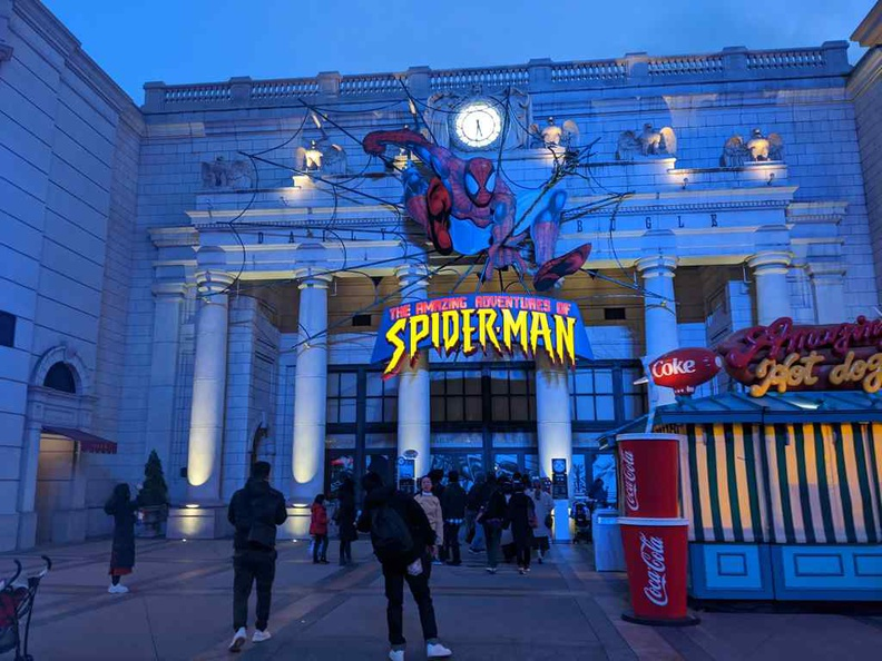 Amazing adventure of Spiderman at New York sector