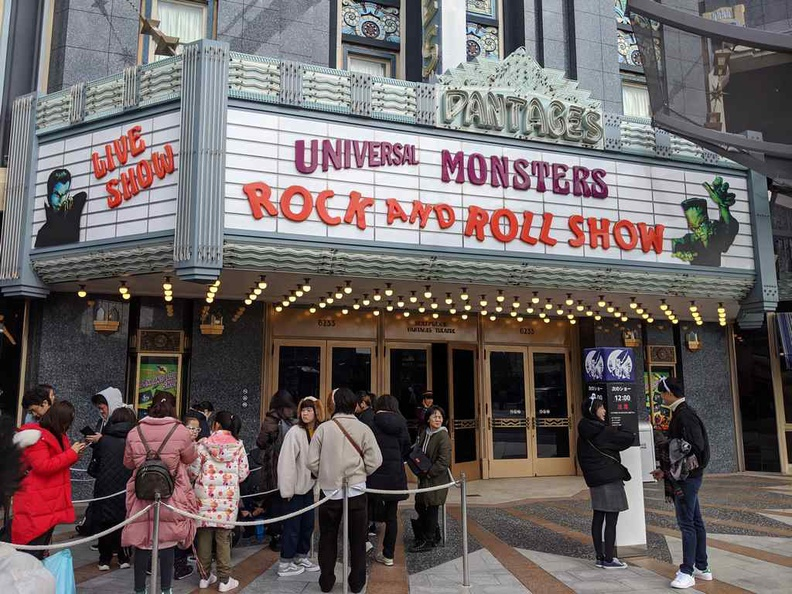 Universal Studios Japan Universal Monsters rock and roll