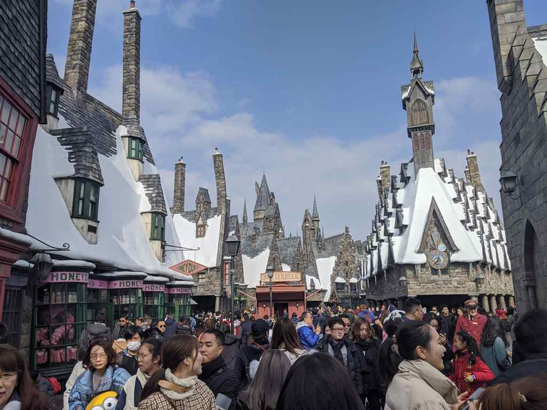 Welcome to The Wizarding world of Harry Potter in universal Osaka