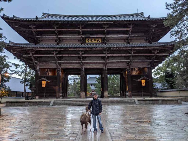 Nara park Japan Tōdaiji Nandaimon Gate