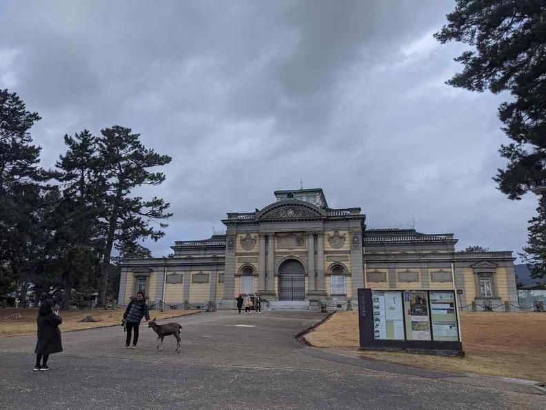 Nara National Museum grounds