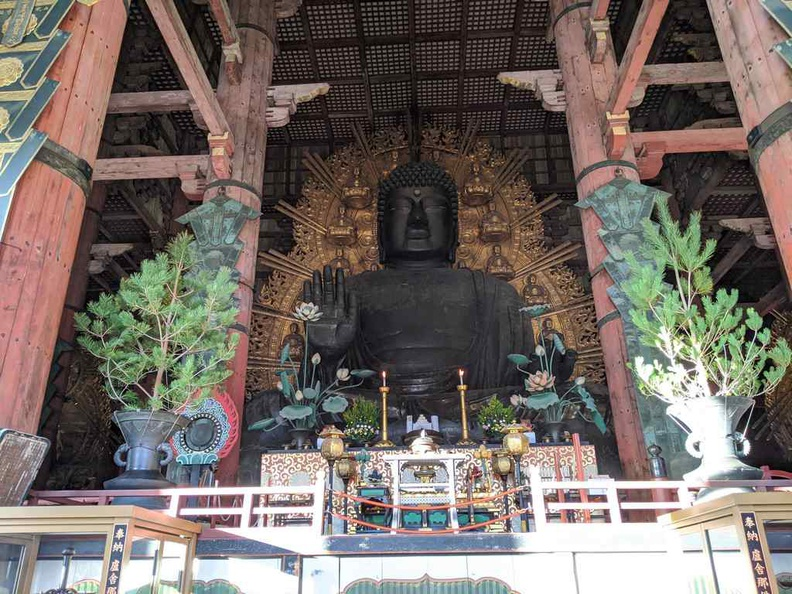 World largest Bronze Buddha Daibutsu of Tōdai-ji