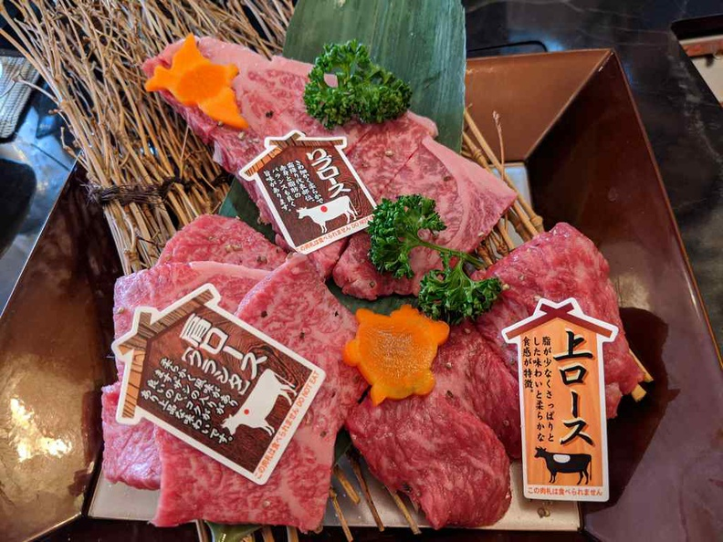 You can find several Kobe and Wagyu BBQ restaurants offering the deal at reall good prices